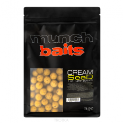Kulki zanętowe Munch Baits - Cream Seed 1kg - 14mm